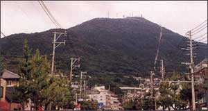皿倉山山頂